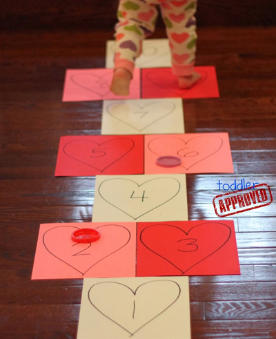 Heart Hopscotch